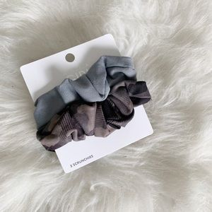 New Athleta Girl Hair Scrunchie Set